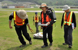Soil Structure Testing Using Ground Penetrating Radar